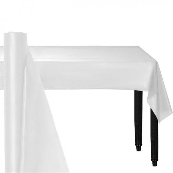 Papier Tischdecke auf Rolle weiß 25m