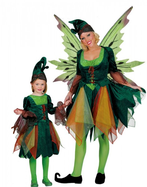 Wood elf Ilvy costume for women