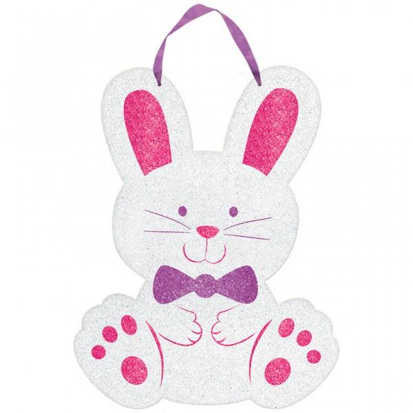 Cartel de conejito de Pascua feliz 22 x 29cm