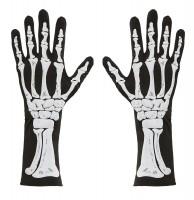 Skeleton Bones Handschuhe 34cm