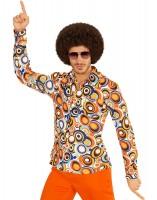 Hippie Ära Partyhemd für Herren