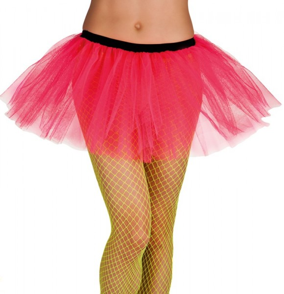 Neon Pinkes Party Tutu Für Damen