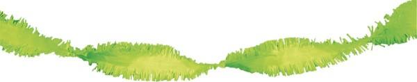 Guirlande rotative 24m citron vert