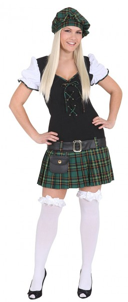 Scottish school girl costume