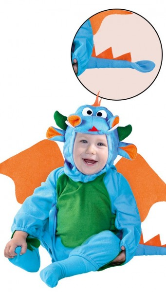 Mini Drache Eregon Kleinkinderkostüm