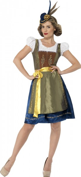 Hüttengaudi Alpenliebe Dirndl Kostüm