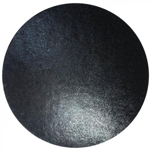 Schwarze Tortenplatte Sweety 25cm