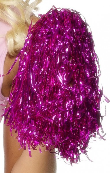 Polina Cheerleader Pompon In Metallic Pink