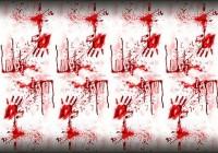Massaker Party Tischdecke 2,7 x 1,35m