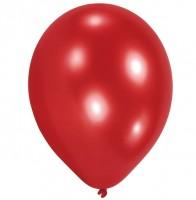 10er Set Luftballon Rot 23 cm