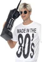 Aufblasbares Retro 80er Jahre Handy