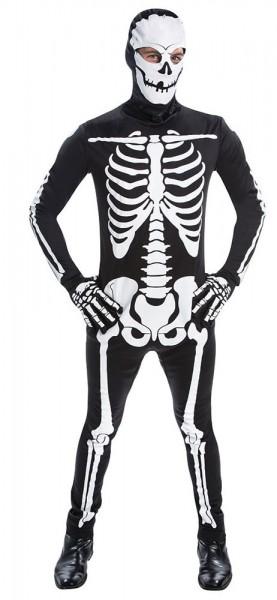 Skelett Jumpsuit für Herren