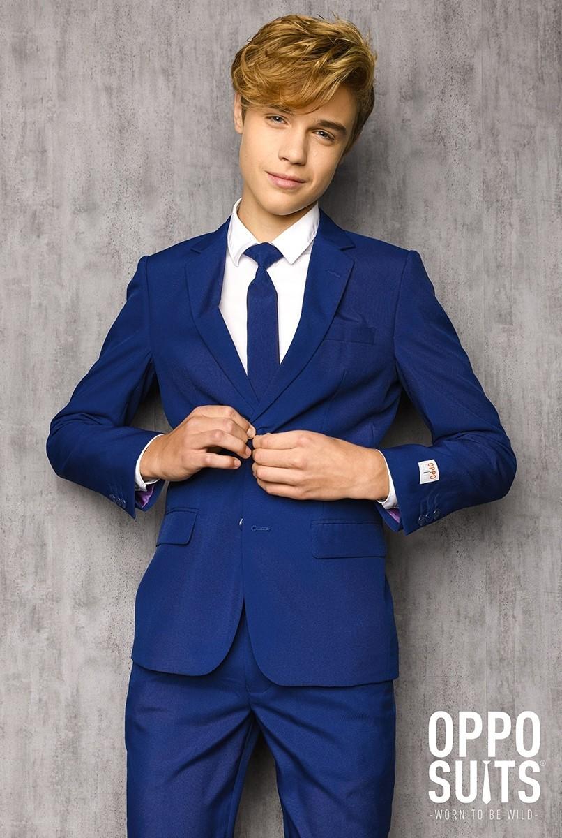 OppoSuits Anzug Teen Boys Navy Royale