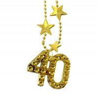 Partykette goldene 40
