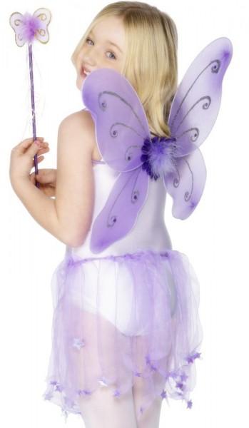 2 Teiliges Feen/Schmetterlings Set Kinder