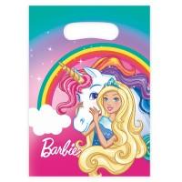 8 Partytüten Barbie Fantasy World
