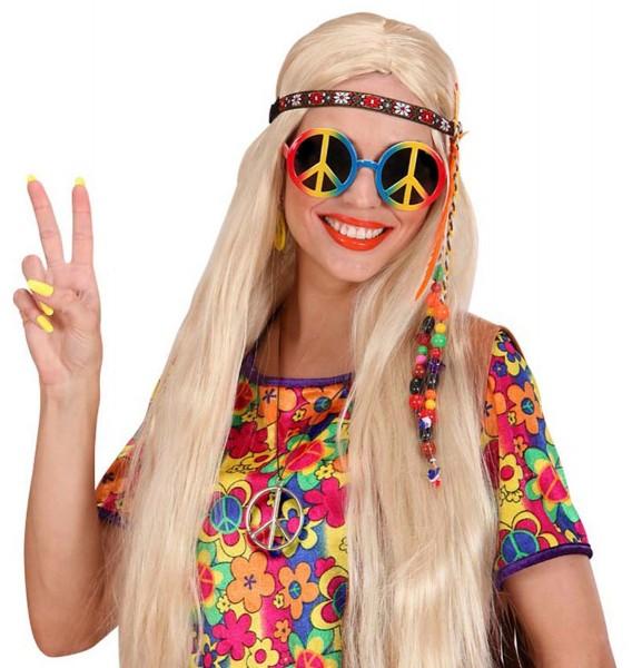 Collana Hippie con simbolo della pace