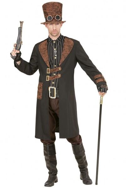 Disfraz de villano steampunk para hombre