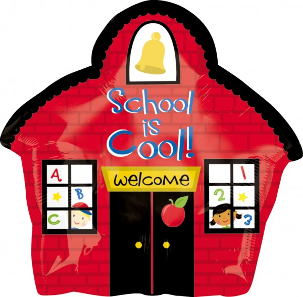 School is cool foil balloon 45cm