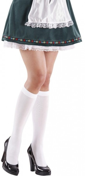 Chaussettes blanches modestes