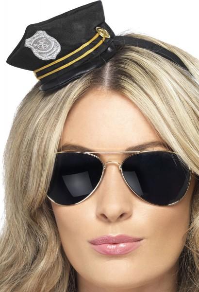 Mini Polizistinnenhut
