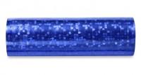 1 Rolle Luftschlangen metallisch Blau