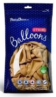 100 Partystar metallic Ballons gold 27cm