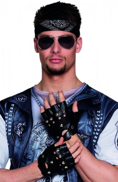 Biker Bronco Nieten Handschuhe