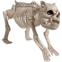 Bulldoggen Skelett Dekofigur 22 x 42cm