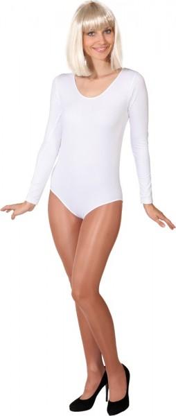 Body blanco manga larga Tamara