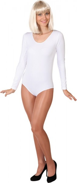 White long sleeve body Tamara