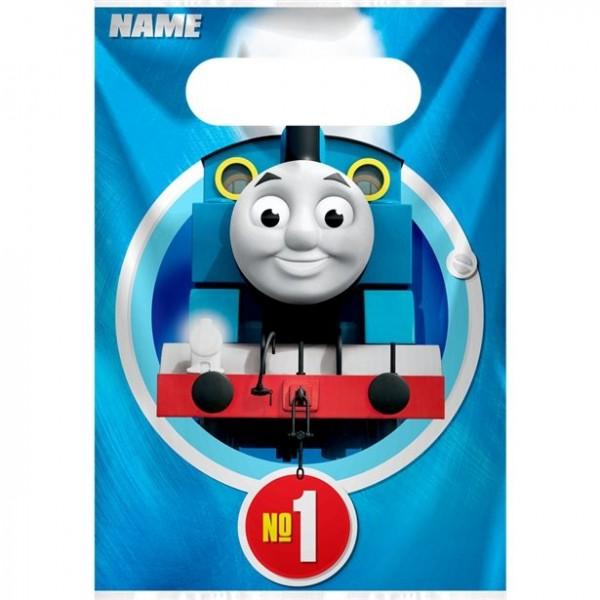 8 bolsas de regalo de Thomas la locomotora