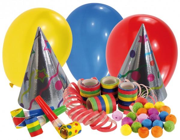 Ultimatives Karneval Party Set 21-Teilig