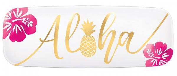 Plato para servir Aloha Island 44,5 x 16,5 cm