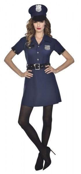 Costume policière Nina femme