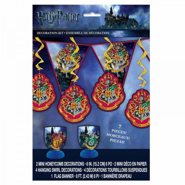 Harry Potter Hogwarts Deko Set 7-teilig