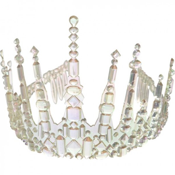 Icy queen crown