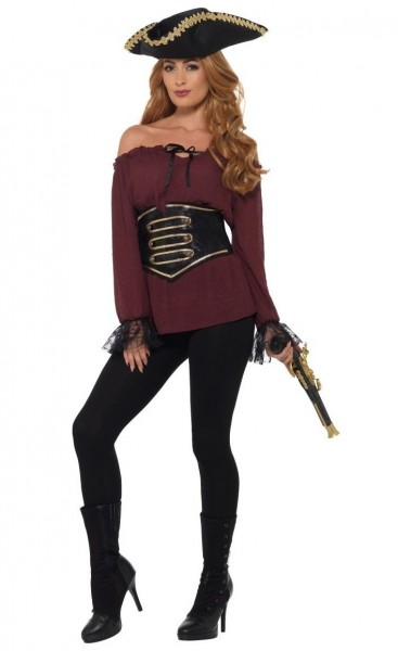 Noble pirate blouse for women Premium