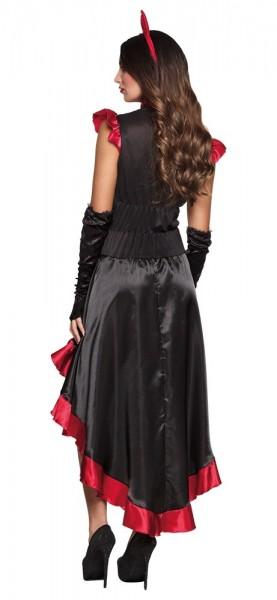 Fortalende flamenco djævel kostume til kvinder