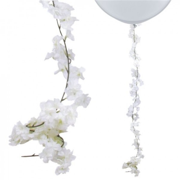 White flower garland 2.1m