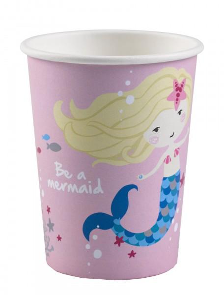 8 Becher Be a Mermaid 250ml
