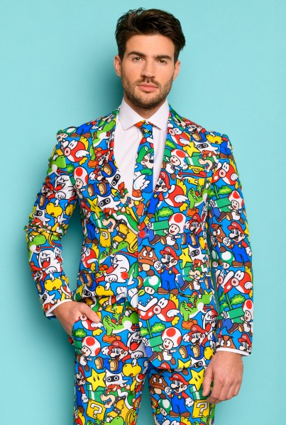 OppoSuits party suit Super Mario