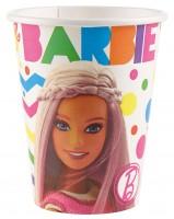 8 Barbie Fashionista Pappbecher 266ml