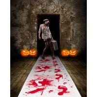 Blutiger Folterkammer Teppich 4,5m x 60cm
