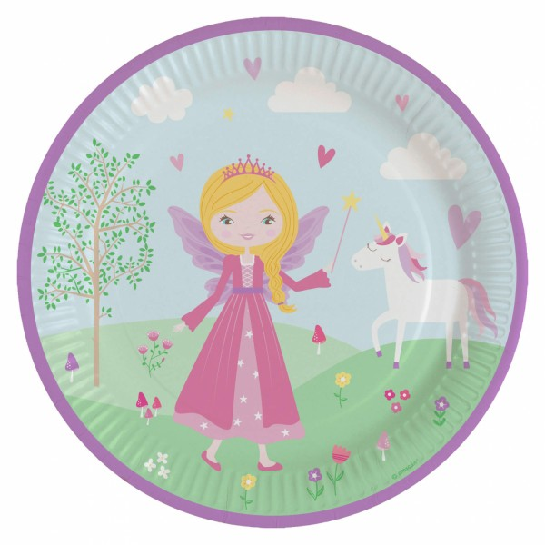 8 Prinzessin Anastasia Pappteller 23cm