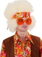 Orangefarbene 60er Jahre Brille