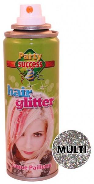 Buntes Glitzer Effekt Haarspray 125ml