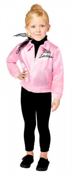 Grease Pink Ladies Jacket Girls