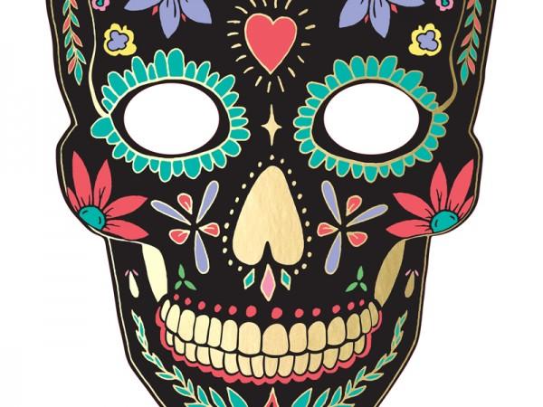 Masque en carton Feast of the Dead noir
