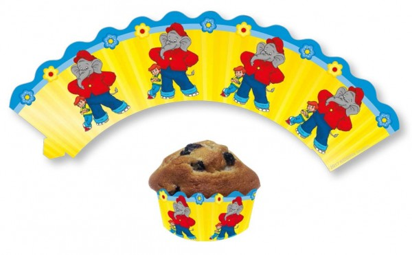 12 manicotti per muffin Benjamin Blümchen